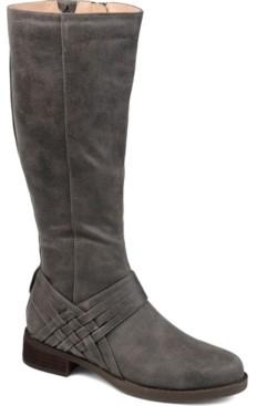 Journee Collection Women's Extra Wide Calf Meg Boot Women's Shoes