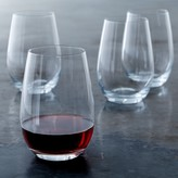 Williams Sonoma Open Kitchen Stemless Red Wine Glasses, Set of 4