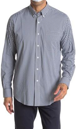 Oxford Howell Gingham Print Regular Fit Performance Shirt