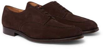 Tricker's Abingdon Suede Derby Shoes