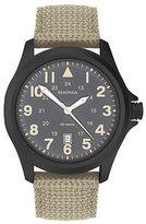 Sekonda Men's Beige Nylon Strap Watch