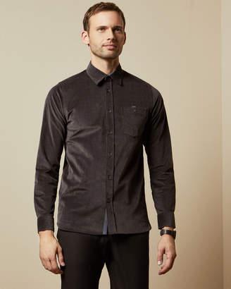 Ted Baker CORDDIE Long sleeved cord shirt