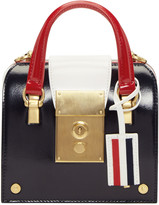 Thom Browne Tricolor Tiny Mrs. Thom Bag