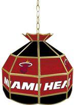 """Miami Heat 16"""" Tiffany-Style Lamp"""