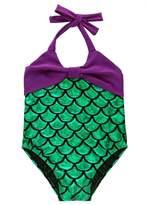 Angel Legend Children Mermaid Summer Beach Swimming Bikini Set Swimsuit Fancy Cosplay 4T