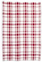 "Sur La Table Checkered Linen Kitchen Towel, 28"" x 18"""