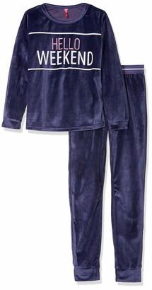 Lina Pink Girl's EF.Teen.PYV Pyjama Sets