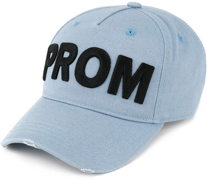 DSQUARED2 Prom embroidered baseball cap