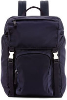 Prada Tessuto Men's Backpack, Navy