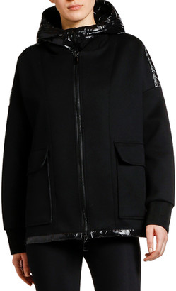Moncler Double-Layer Puffer Jacket