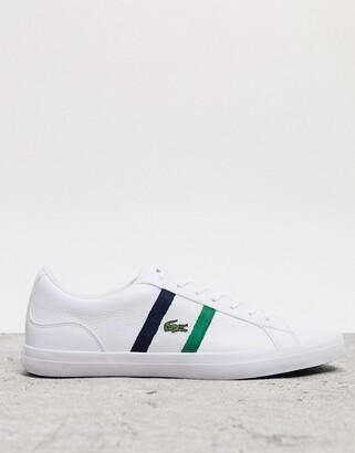 Lacoste lerond 119 sneakers white navy stripe