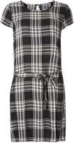 Only **Only Black Check Tunic