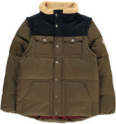 Pyrenex Two-Tone Thibault Down Jacket with Detachable Sleeves