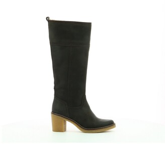 Kickers Averno Suede Knee-High Boots