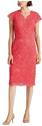 Lauren Ralph Lauren Bambina Dress (Starfruit) Women's Dress