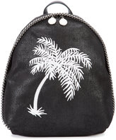 Stella McCartney palm-tree small backpack - women - Polyester - One Size