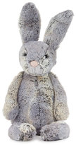 Jellycat Medium Wowser Hare Stuffed Animal, Gray