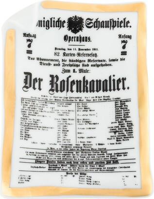 Fornasetti Der Rofenkavalier dish