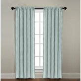 Veratex Solid Window Panel Collection Made in the U.S.A. 100% Linen Living Room Rod Pocket Solid Window Panel Curtain