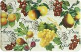 """Bacova Botanical Fruit 22"""" x 35"""" Accent Rug"""