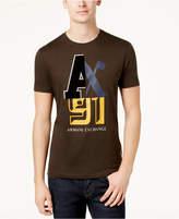 Armani Exchange Men's Logo-Print T-Shirt
