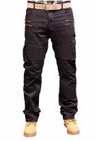 Prime Men's Slim Fit Jeans Black MBJ-001