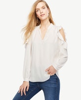 Ann Taylor Bare Shoulder Blouse