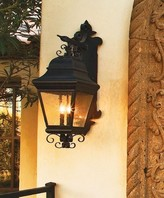 The Well Appointed House Bloom Exterior Wall Lantern-Available in Six Different Finishes