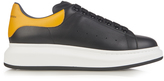 Alexander McQueen Raised-sole low-top leather trainers