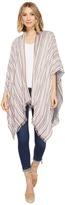Echo Reversible Stripe Ruana II Women's Clothing