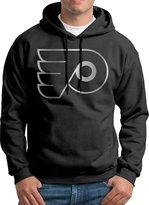 Sarah Men's Philadelphia Flyers Platinum Logo Hoodie M