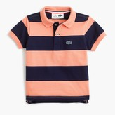 J.Crew Kids' Lacoste® for striped polo shirt