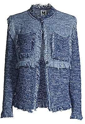 M Missoni Women's Chambray Tweed Jacket