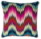 Jonathan Adler Bargello Worth Avenue Throw Pillow