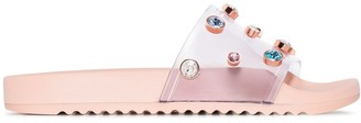 Sophia Webster Dina crystal-embellished slides