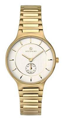 Accurist Womens Analogue Classic Quartz Watch with Stainless Steel Strap 8186.01