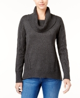 Style&Co. Style & Co Style & Co Petite Cowl-Neck Sweater, Created for Macy's