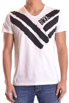 Dirk Bikkembergs Men's White Cotton T-shirt.