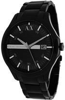 Giorgio Armani Exchange AX2104 Men's Classic Black Stainless Steel Watch