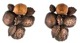 Saint Laurent Acorn Clip-On Earrings
