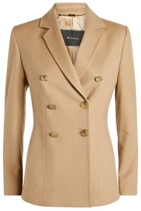 Kiton Cashmere Double-Breasted Jacket
