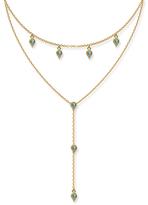 Eddera Turquoise Lariat Necklace
