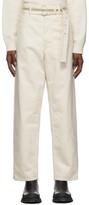 Off-White Jil Sanderand Standard Jeans