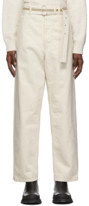 Jil Sanderand Off-White Standard Jeans