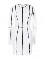 Christopher Kane stretch tulle long sleeve dress