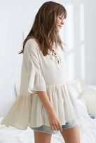 aerie Lace-Up Poncho