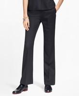 Brooks Brothers Petite Pinstripe Stretch-Wool Pants