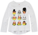 JCPenney Okie Dokie Halloween Graphic Tee - Toddler Girls 2t-5t