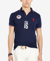 Polo Ralph Lauren Men's Custom-Fit USA Polo Shirt