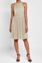 Halston Metallic Dress